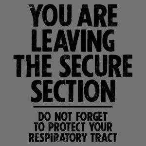 Bezpieczne Sekcja (czarny)