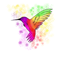 Kolibri wunderschöne Kreatur schöner kolibri
