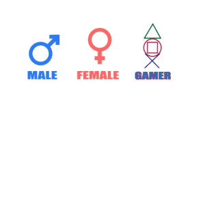 Gamer Gender Mann Frau Geschlecht Gaming Humor