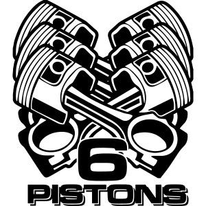 MTKPR012 Six pistons