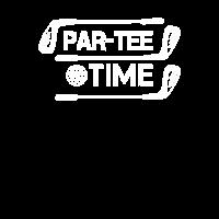 Par-Tee Time Golf Golfer Golfen Goldschläger