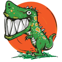 Dinosaurier Dinosaurus Rex Design