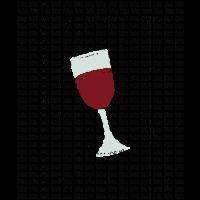 Bla Bla Bla Wein Weinglas Rotwein Alkohol