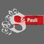 Hamburg-St.Pauli: Schild | Initial im Tattoo-Stil