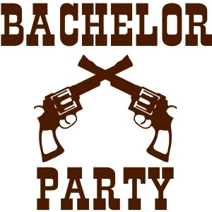 bachelor party western style