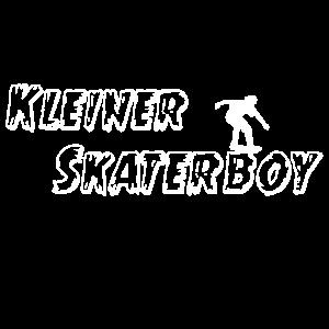 Kleiner Skaterboy Skateboarding