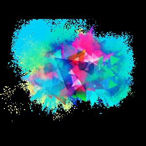 Abstrakt Hintergrund farbenfroh