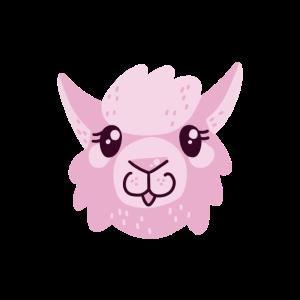 Niedliches Lama / Alpaka