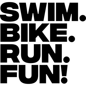 swim bike run fun
