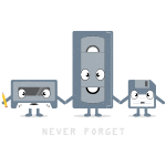 Never Forget VHS, Floppy