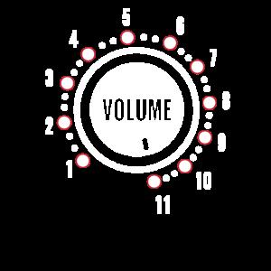 Volume Lautstärke Knopf Verstärker Musik Geschenk
