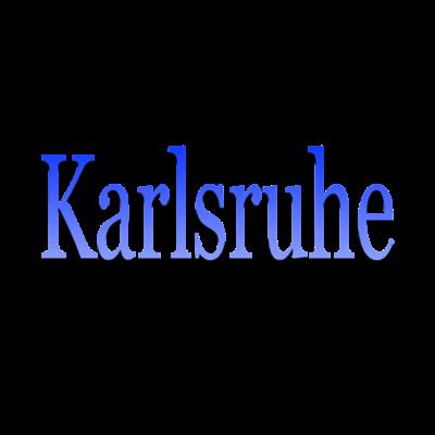 Karlsruhe - Für Alle die Karlsruhe lieben und dies gerne auch offen zeigen. Perfekt auch als Geschenk geeignet. Logo in Blau & Weiß. - Durlach,Städte,KSC,Baden-Württemnberg,Karlsruhe,Ultras,Geschenkidee,Fächerstadt,Fanshirt,Blau weiss,Karlsruh,Baden,Fußball