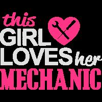GIRL KFZ AUTO MOTORRAD MECHANIKER LIEBE GESCHENKE