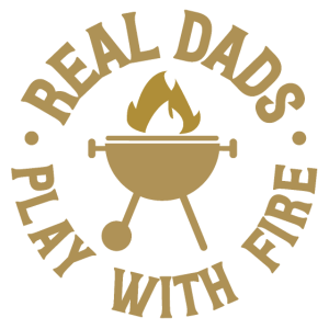 Grillen Grill Papa Dad Vatertag Feuer Geschenk