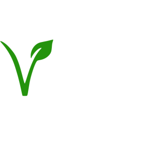 Vegan mit V-Logo