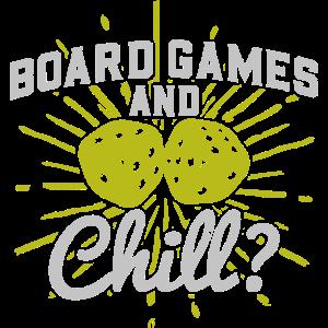 Board Games And Chill? - Brettspiele Fan Liebhaber