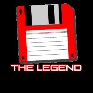 Diskette Legendär Geschenkidee