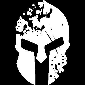 SpartanHelmet 4 White