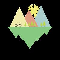 Fahrradtour Radsport Mountainbike Geschenk Fahrrad
