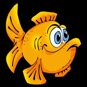 Fisch Goldfisch comic Cartoon