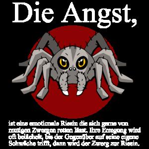 Spinne Angst Tarantel Vogelspinne