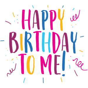 Herzlichen Glückwunsch zu meinem Geburtstag!