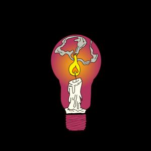 Kerze Glühlampe Glühbirne LichtWachs Kunst Hell