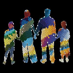 Familie Liebe Geschenkidee Design Grafik Exklusiv