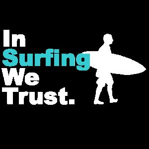 Surfen Surfer Surfbrett Wellenreiter Geschenk