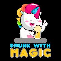 Einhorn Magisches Getränk Geschenkidee