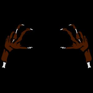 2 Zombie Hände