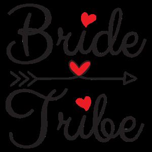 Bachelorette Party Wedding Bride Tribe Herzen