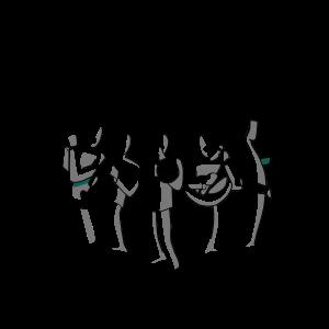 Banda, Straßenmusik oder Orchester