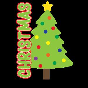 Weihnachtsbaum buntgeschmückt