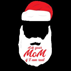 Weihnachtsmann mit ZIPFELMÜTZE Geschenkidee