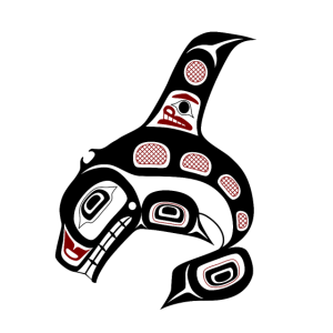 Northwest Pacific coast Haida art Killer whale