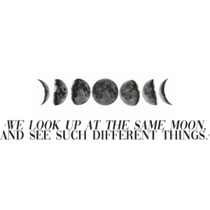 The Same Moon (Quote)