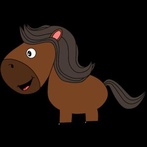 Pferd 1 farbig