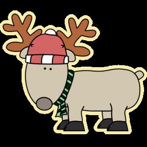 reindeer from santa claus