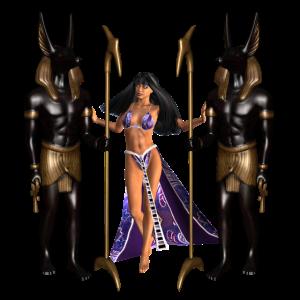 Anubis der ägyptische Gott