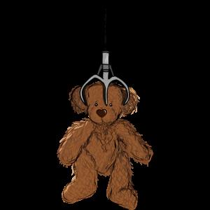 Teddy am Greifarm, Geschenkidee, Spielautomat