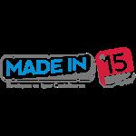Logo Madein15 Vectoriel