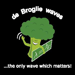 Broglie Brokkolie Wellenfunktion Quantenmechanik