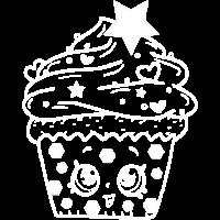 Cupcake Törtchen Gesicht