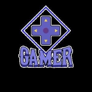 Gamer Gamepad Steuerung Kreuz Tasten Online Spiel