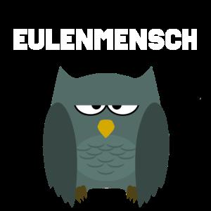 Eule | Cartoon | Eulenmensch