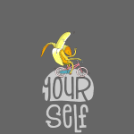 Hipster Banane - Bleib du selbst - be Yourself