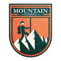 Bergsteigen Klettern Berg Geschenk Idee