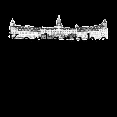 Karlsruhe - Schloss - Für alle die Karlsruhe lieben und dies auch der Welt zeigen möchten. Perfekt auch als Geschenkidee geeignet. - Karlsruher SC,Durlach,Karlsruhe,metropole,Marktplatz,Rüppurr,Stadtbild,architektur,architekt,gebäude,Städte,KSC,Schloss,deutsch,stadtbild,Stadt,Schlösser,Stadtteil,Deutschland,Geschenkidee,Fächerstadt,Sehnswürdigkeit,Baden-Württemberg,Baden,Fußball