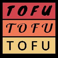 Tofu Veganer Vegetarier Geschenk